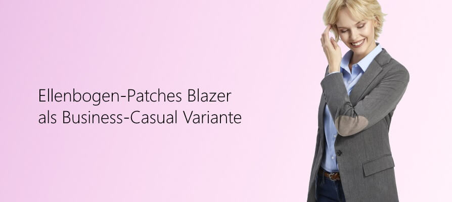 Damen Blazer mit Patches