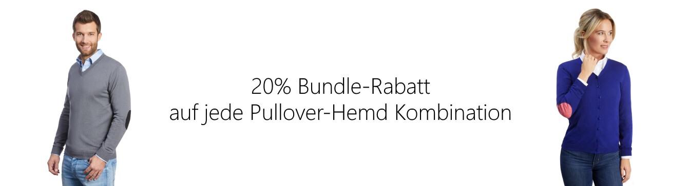 ALLBOW Pullover mit Hemd Bundle Rabatt
